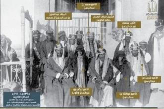 صورة نادرة.. الملك عبدالعزيز في زيارة إلى الشيخ مبارك الصباح - المواطن