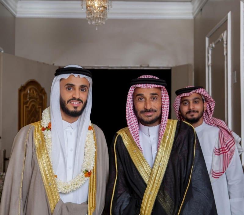 آل صرخي تحتفل بزواج ابنهم الشاب صلاح