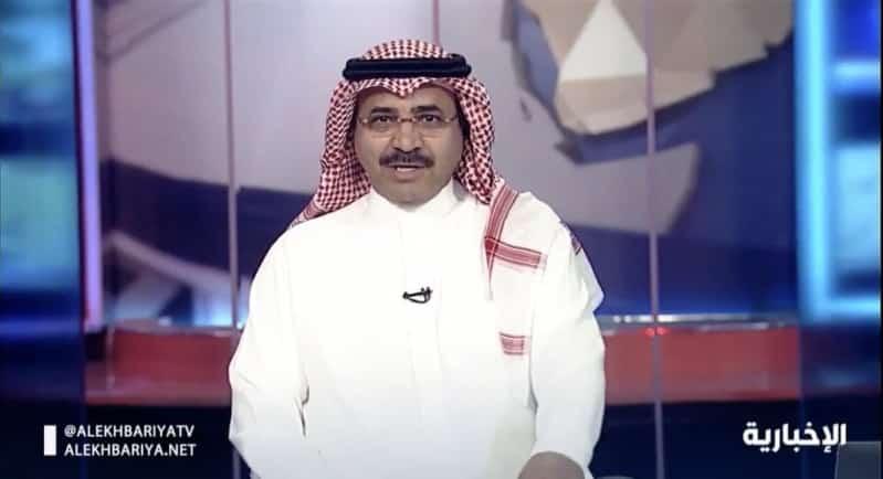 عبدالله الشهري على الشاشة مجددًا في نشرة التاسعة على الإخبارية