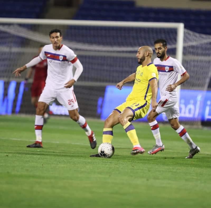 دوري محمد بن سلمان.. تعادل أبها والنصر سلبيًّا في الشوط الأول