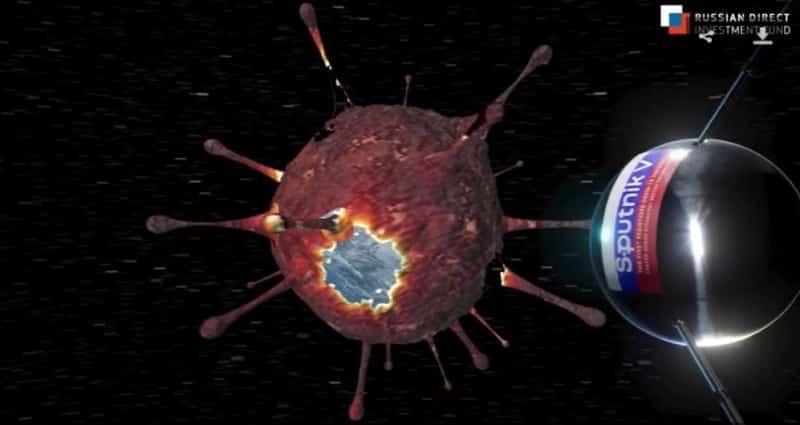أول مقطع فيديو يوضح كيف يعمل عقار Sputnik V في الجسم 1