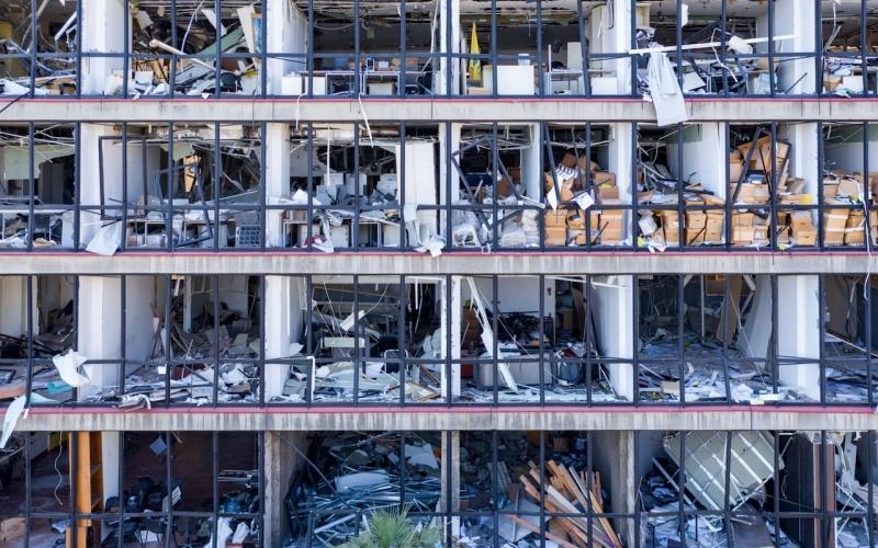 التليغراف حتى الموتى لا يحصلون على الراحة في بيروت