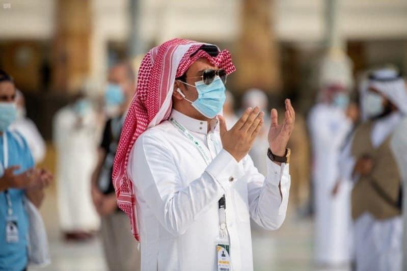 الحجاج يودعون بيت الله الحرام حج 1441 22