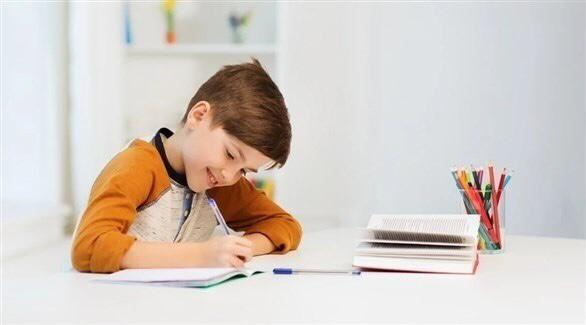 طريقة الجلوس الصحي للأطفال في الدراسة عن بعد