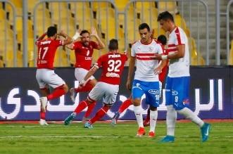 الزمالك ضد الأهلي في الدوري المصري