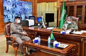 اللواء اليحيى يستقبل رئيس الاتحاد الرياضي السعودي لقوى الأمن الداخلي 1