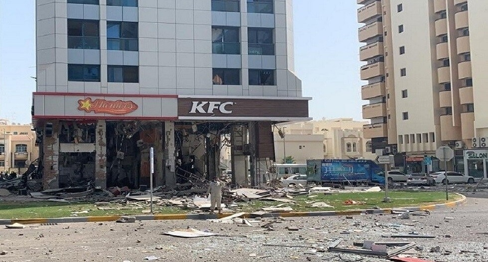إصابات بانفجار في مطعم بأبو ظبي