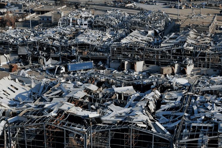 انفجار بيروت ونترات الأمونيوم