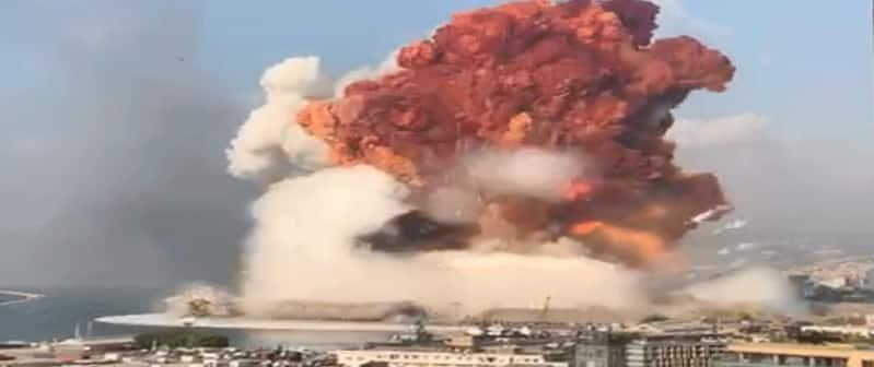 معلومات أولية: انفجار بيروت وقع بمخزن مفرقعات قرب مقر سعد الحريري