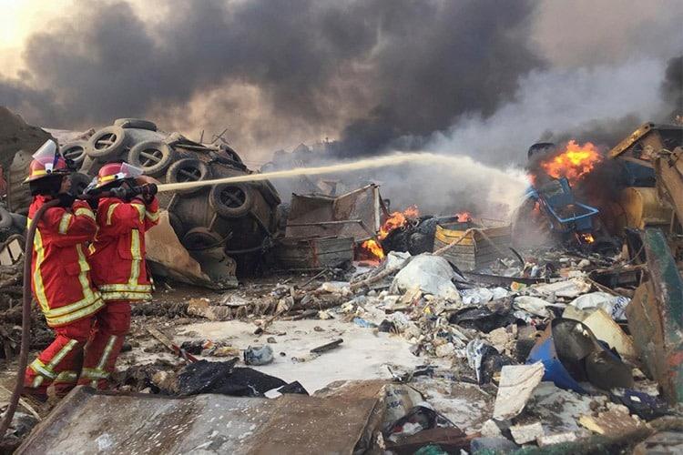 أكثر من 67 قتيلًا و3500 جريح في انفجار مرفأ بيروت