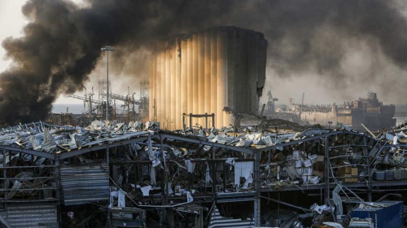لجنة تحقيق للكشف عن أسباب انفجار مرفأ بيروت