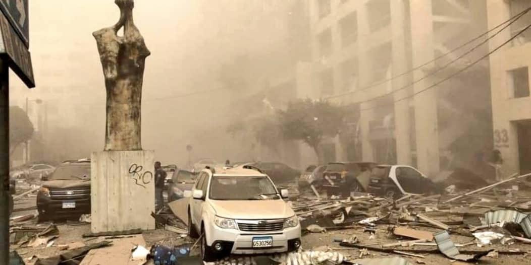 إعلان الطوارئ في بيروت لمدة أسبوعين بسبب الانفجار الكبير