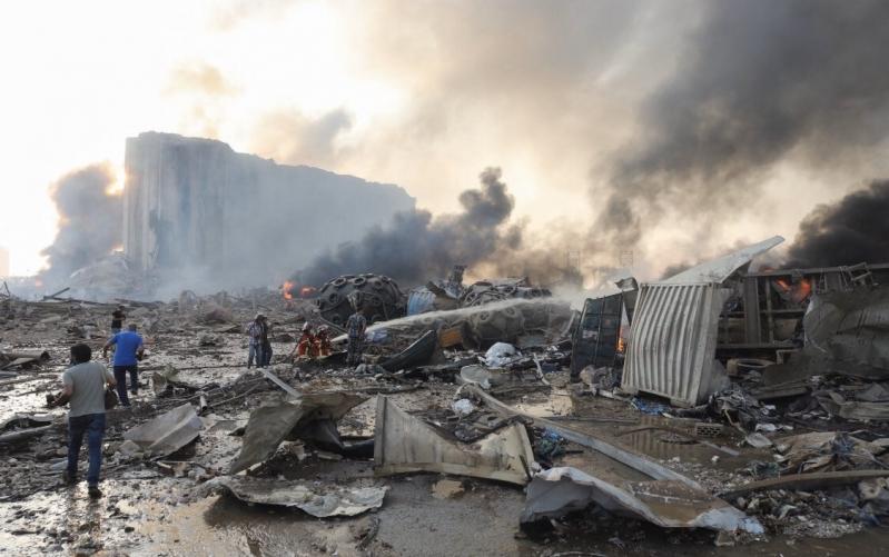 انفجار لبنان 4