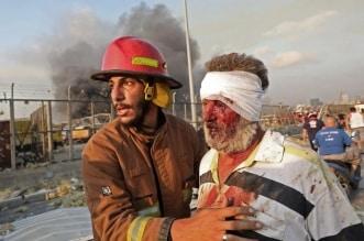 صور وفيديوهات ترصد مشاهد مرعبة لانفجار بيروت الكبير.. الإصابات تتجاوز الـ 1000 - المواطن