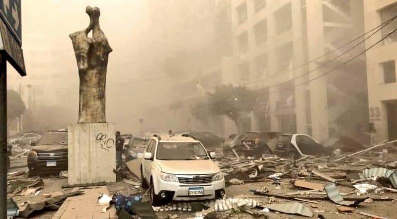 انفجار بيروت يوقع 27 قتيلًا وأكثر من 2500 جريح