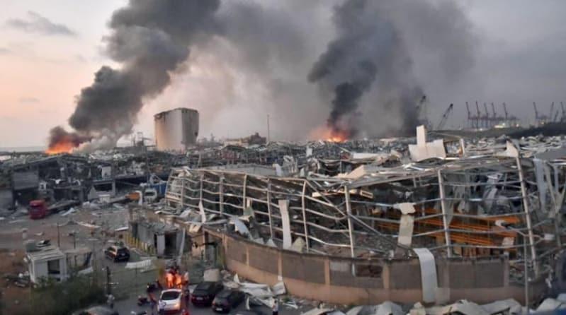 20 حاوية كيماويات خطرة باقية في مرفأ بيروت!