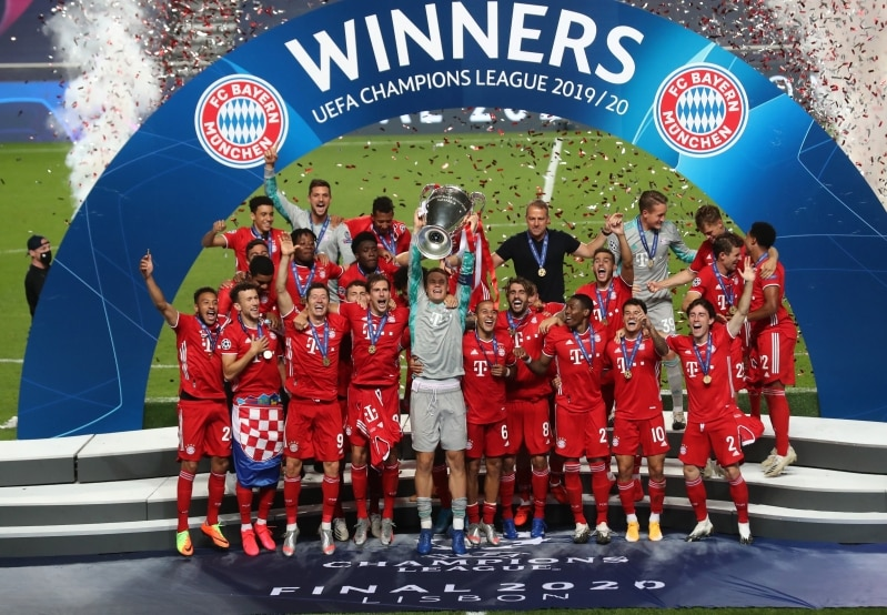 بايرن ميونيخ بطل دوري أبطال أوروبا
