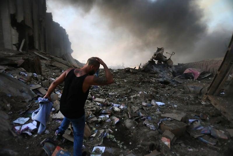 تفجير لبنان 3
