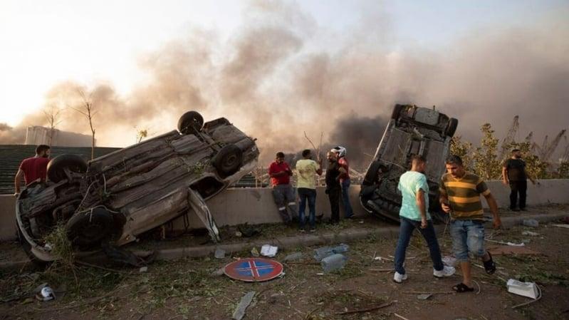 عدد المفقودين جراء انفجار بيروت يفوق عدد القتلى