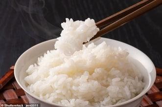 تناول الأرز بكثرة يزيد خطر الوفاة بأمراض القلب بنسبة 6%