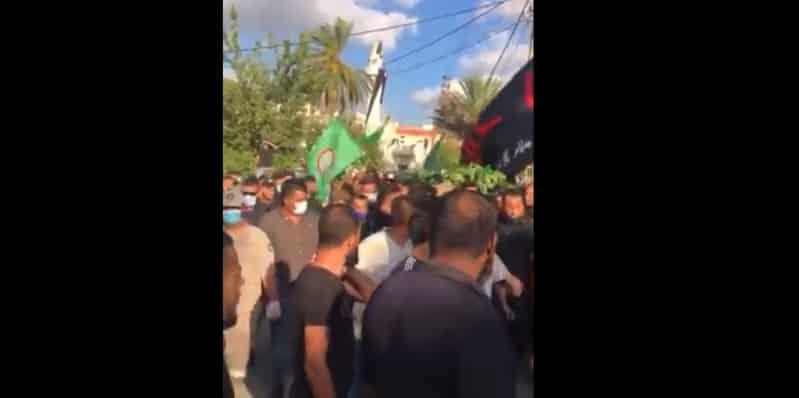 فيديو.. مشيعون في لبنان يرددون: نصر الله عدو الله