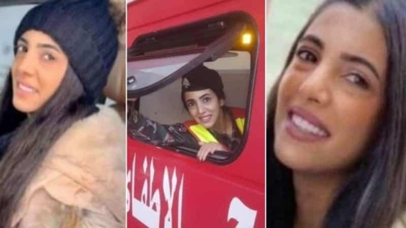 خطيب عروس فوج الإطفاء اللبناني: الله يحرق قلب اللي حرمني منكِ