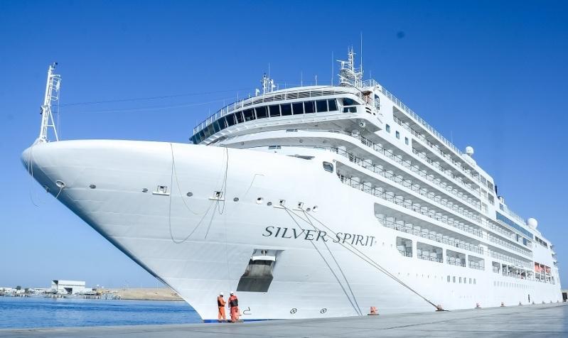 ميناء ضبا يستقبل أولى سفن الكروز السياحية