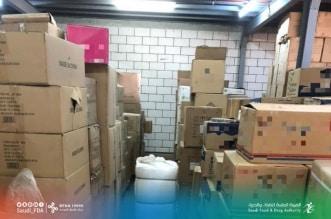 ضبط 45 ألف عبوة منتجات تجميلة بمستودع مخالف في مكة
