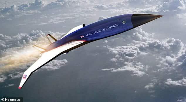 طائرة ماخ 5 الأسرع من الصوت تنضم قريبًا للأسطول الرئاسي الأمريكي
