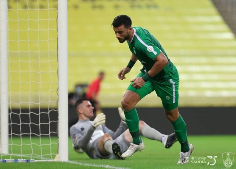 عمر السومة مع النادي الأهلي