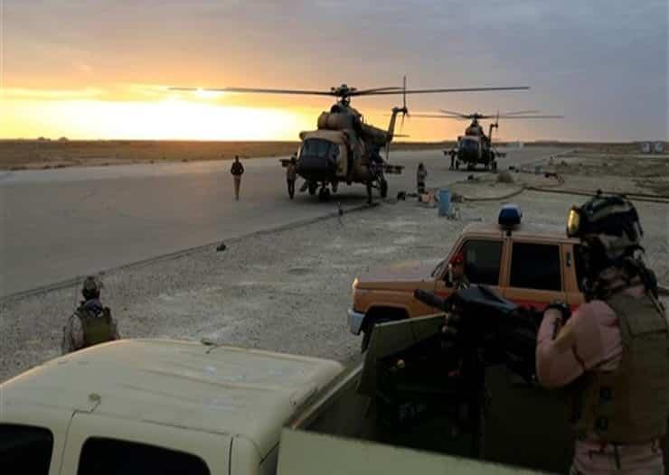 القوات الأمريكية وقوات التحالف تبدأ الانسحاب من قاعدة التاجي بالعراق