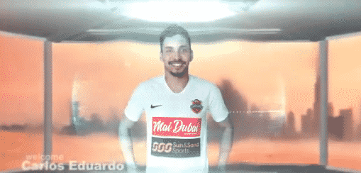 كارلوس إدواردو لاعب شباب أهلي دبي