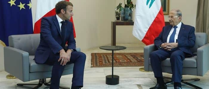 رئيس فرنسا بعد قمة بعبدا: هدفنا أن يبقى لبنان حرًا وصاحب سيادة