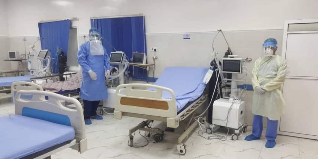 المملكة توفر أجهزة التنفس الاصطناعي بمراكز علاج كورونا بوادي حضرموت