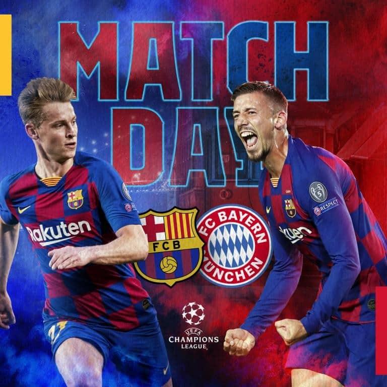 برشلونة ضد بايرن ميونيخ