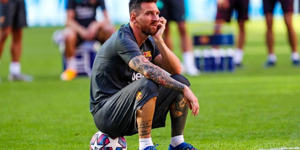 ميسي يصدم برشلونة