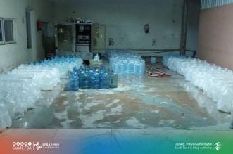 مصنع مياه مخالف