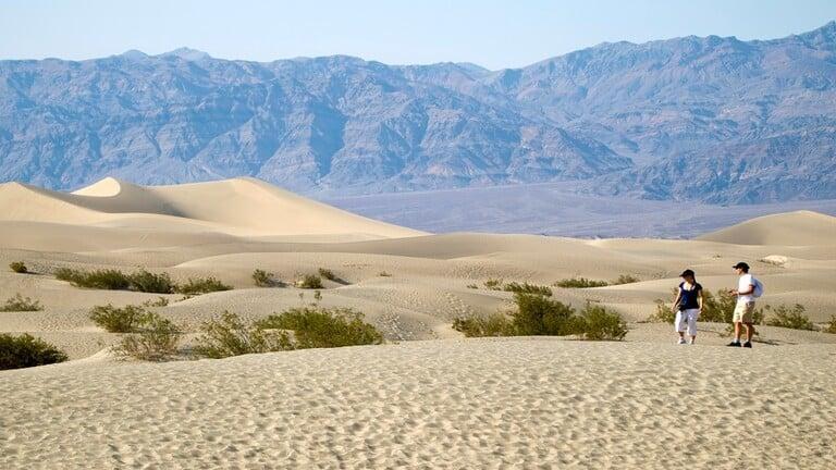 وادي الموت يسجل أعلى درجة حرارة على سطح الأرض
