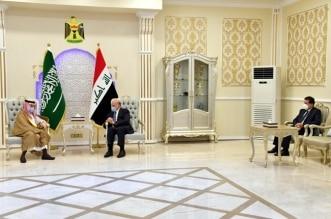 وزير الخارجية فيصل بن فرحان في العراق
