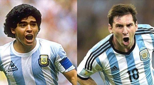 نجل مارادونا عن ميسي: ليس أفضل من والدي