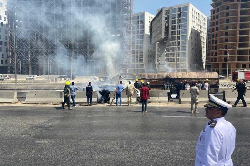 انقلاب ناقلة وقود مصر