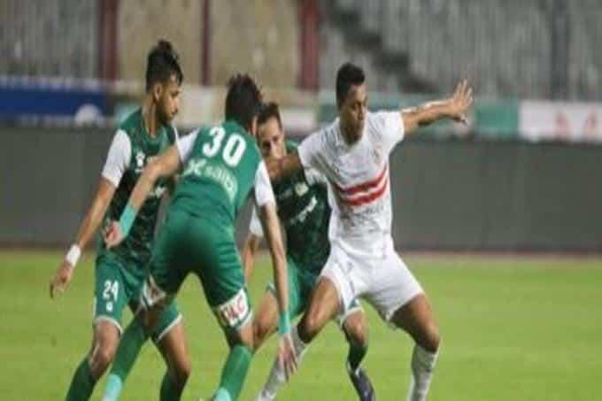 لدغة محمود علاء تمنح الفوز لـ الزمالك ضد المصري