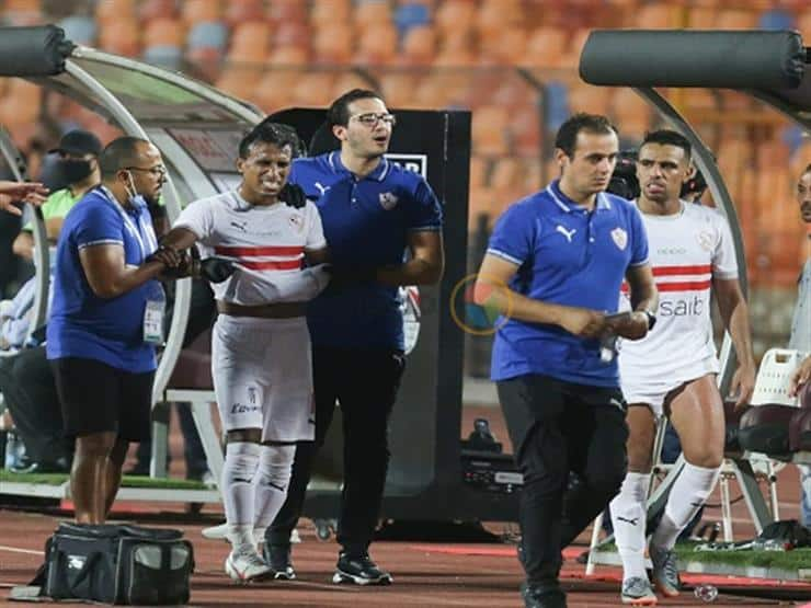 إصابة محمد عبدالشافي في الترقوة