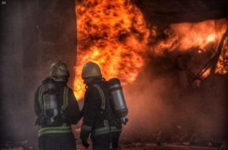 مدني جدة يخمد حريقًا اندلع في مستودعات بحي المحجر - المواطن