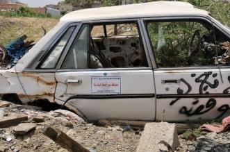 رفع وإزالة السيارات التالفة والمتعطلة بـ بلدية قنا - المواطن
