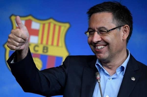 أول تعليق من برشلونة بعد اعتقال بارتوميو واقتحام النادي