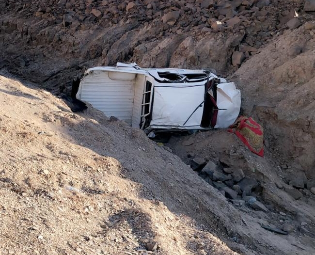 وفاة وإصابة 10 أشخاص في تصادم مروع بـ تبوك