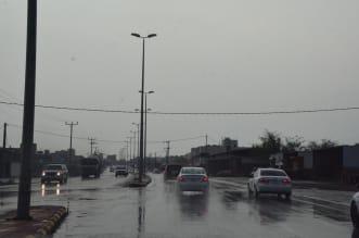 شاهد.. أمطار تلطف الأجواء بمحافظات تهامة عسير - المواطن