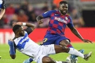 صامويل أومتيتي مدافع برشلونة