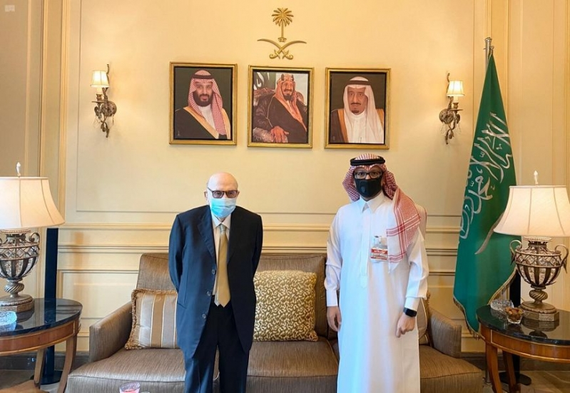 سفير المملكة بلبنان يبحث المستجدات المحلية والإقليمية مع الأمين المساعد للجامعة العربية